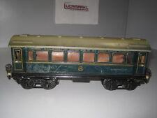 Märklin Spur 0 1757G CIWL Schlafwagen mit Inneneinrichtung 1934-1939  Marklin