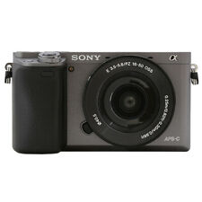 Sony Alpha a6000 Mirrorless Digital Camera with 16-50mm Lens Graphite
