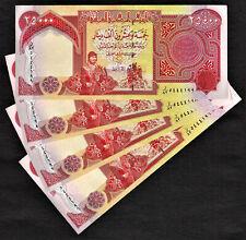 Iraq, New Iraqi Dinar 4 X 25000 TOTAL 100,000 UNCIRCULATED