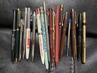Vintage Ballpoint Pen Lot Multiple Brands