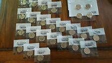 Lot of 26 Gold plated Presidential Dollars  2011-2015 Great Packaged variety