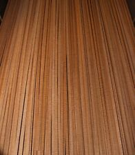 Curly mahogany guitar binding, top quality. Sold in sets of two.