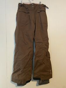Columbia Womens Convert Snow Pants Size Small Brown