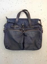 Filson Original 24 Hour Tin Cloth Briefcase Navy