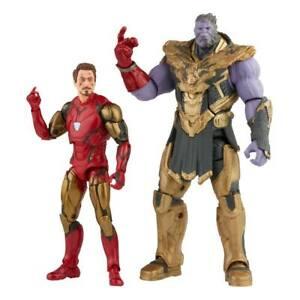 The Infinity Saga Marvel Legends Actionfiguren 2-Pack 2021 Iron Man Thanos