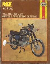 MZ TS150,TS250,ES150,ES250,ETS250 TROPHY SPORTS,SUPER HAYNES MANUAL 1969-1979