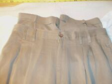 Tommy Bahama relax silk pleated cuffs 35 x 29 #158
