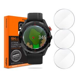 Garmin Approach S62 Golf Watch Spigen®Tempered Glass Screen Protector [3 PACK]