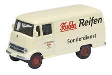 """Mercedes-Benz L319 """"Fulda Reifen"""" - 1:87 / H0 Gauge - Schuco (25739)"""