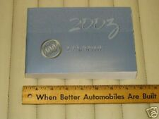 2003 BUICK LESABRE Car Owner's Manual - French