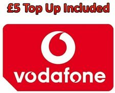 LATEST PAY AS YOU GO 3G 4G VODAFONE TRIPLE SIM CARD WITH £5.00 CREDIT PRELOADED