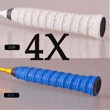4x Stretchy Anti Slip Racket Bat Overgrip Roll Tennis Badminton Handle Grip Tape