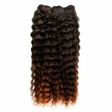 Weft Synthetic Medium Length Hair Extensions