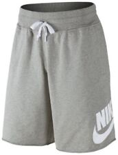 Mens Nike AW77 French Terry Frayed Hem Shorts 905299-063 Grey Brand New Size 2XL