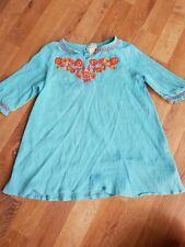 monsoon girls beach dress summer 5-6 years