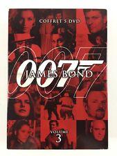 James Bond 007 Volume Vol 3 Coffret 5 DVD