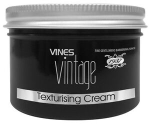 Vines Vintage Professional Barber Texturising Hair Cream 125ml Texture