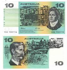 AUSTRALIA UNC $10 Dollars (1974) ND P-45g Fraser-Cole Paper Money
