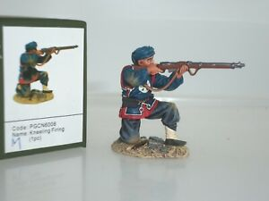 TEAM MINIATURES PGCN6008 CHINESE BOXER REBELLION QING SOLDIER KNEELING FIRING