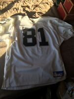 2003 Authentic Tim Brown Oakland Raiders Away Jersey Size 48 AUTOGRAPHED! (NWOT)