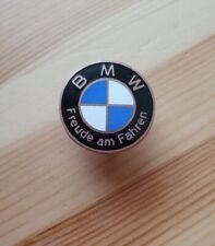 """BMW - """"Freude am Fahren"""" - Pin - Ø 2,6 cm - Emaille - Kupfer"""