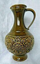 Grand vase pichet en céramique Germany Jasba 1960/70