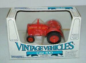 1985 Ertl Vintage Vehicles Diecast 1/43 Case 500 Diesel Farm Tractor NEW In Box