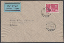 Finland, Helsinki 15m Airmail to England; Silver Street, Hull; 1948