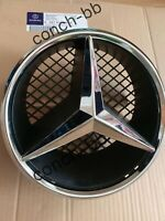 MERCEDES E Class W207 09-12 Coupe Cabriolet FRONT GRILLE CHROME STAR BADGE& BASE