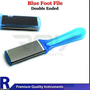Chiropody Podiatry Blue Foot File Hard Dead Skin Removal Nail Care Dressing Tool