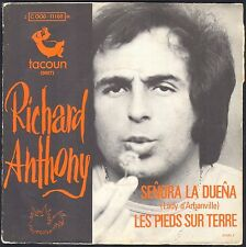 RICHARD ANTHONY SENORA LA DUENA LADY D'ARBANVILLE CAT STEVENS 45T SP BIEM TACOUN