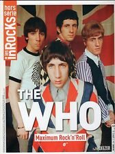 THE WHO - DALTREY - TOWNSHEND - LES INROCKS SPECIAL 100 PAGES COLLECTOR - 2015