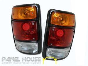 Nissan Datsun 1200 Ute Tail Light PAIR Black Left & Right Lights NEW Lamps