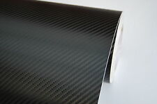 3D CARBON FIBRE VINYL ROLL FULL CAR WRAP BLACK 1.52M X 5 METER AIR/BUBBLE FREE
