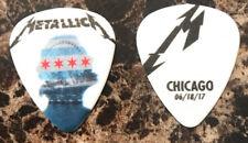 Super Rare! Metallica guitar pick 06/18/17 Chicago IL 2017 WorldWired Tour