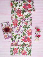 April Cornell Table Runner Greta's Garden Collection NWT Cotton Kitchen Linens