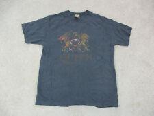 Queen Shirt Adult Large Gray Freddie Mercury Music Concert Rock Mens A28 *