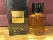 JIL SANDER No 4 EDP 100 ML / 3.4 OZ SPRAY WOMEN NIB SEAL BOX ORIGINAL RARE