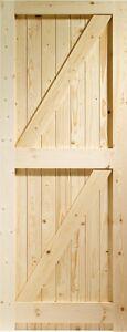 External Pine Framed Ledged & Braced Door / Gate