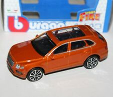 Burago - BENTLEY BENTAYGA (Metallic Orange) - 'Street Fire' Model 1:43
