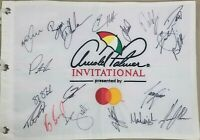 2020 Arnold Palmer autographed signed golf flag DeChambeau Koepka Adam Scott +15