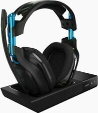 ASTRO A50 BLACK/BLUE PS4+PC WIRELESS GAMING HEADSET 3RD GEN