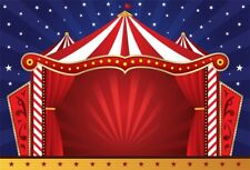 Circus Stage Photo Backdrop Cartoon Photography Studio Background Cloth 7x5ft