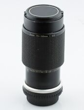 Nikon Zoom 75-150mm f/3.5 Series E Lens Manual Focus w/ Soft Storage Bag