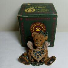 Boyds Bearstone Figurine Bailey the Baker with Sweetie Pie Box #2254 22E/2180