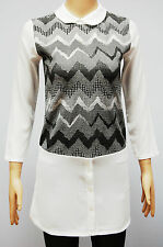 Polyester Collared 3/4 Sleeve Casual Dresses for Women