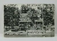Vintage Postcard Summer Home Rome City IN Indiana