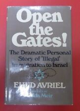 Ehud Avriel, Open the Gates ! .. Illegal Immigration to Israel (1975)  ST2