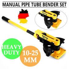 10-25mm Heavy Duty manuale Steel Pipe Tubo Bender Flessione W / muore