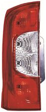 Bipper Fiorino Qubo Nemo Rear Back Tail Light N/S Left 2 Rear Doors 2008 Onwards
